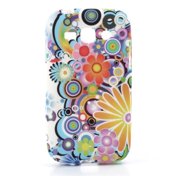 Image of   Samsung Galaxy Ace 3 inCover TPU Cover - Flower Power
