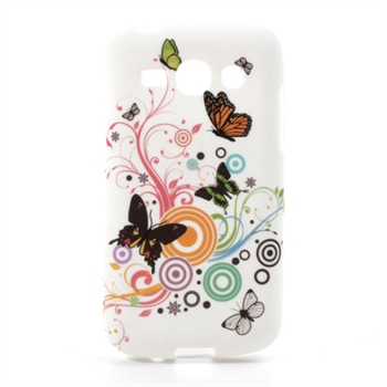 Billede af Samsung Galaxy Ace 3 inCover TPU Cover - Vivid Butterfly