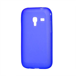 Image of Samsung Galaxy Ace Plus TPU cover fra inCover - blå