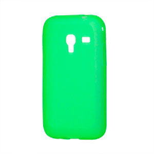 Image of Samsung Galaxy Ace Plus TPU cover fra inCover - grøn