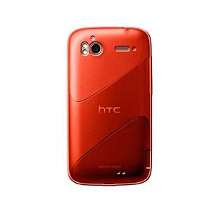Image of HTC Sensation og HTC Sensation XE TPU cover fra inCover - rød-orange
