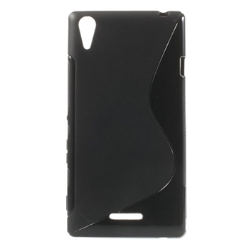 Billede af Sony Xperia T3 inCover TPU S-line Cover - Sort