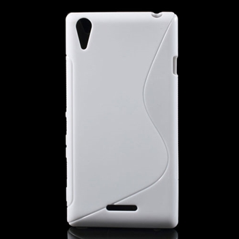 Billede af Sony Xperia T3 inCover TPU S-line Cover - Hvid