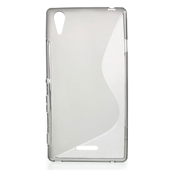 Billede af Sony Xperia T3 inCover TPU S-line Cover - Grå