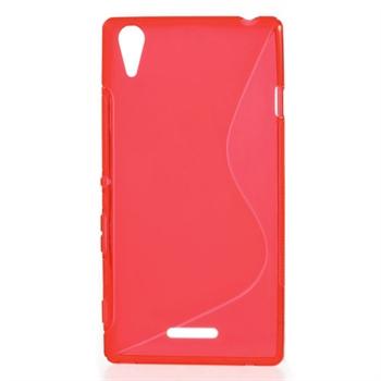 Billede af Sony Xperia T3 inCover TPU S-line Cover - Rød