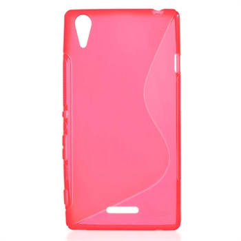 Billede af Sony Xperia T3 inCover TPU S-line Cover - Rosa