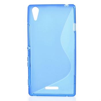 Billede af Sony Xperia T3 inCover TPU S-line Cover - Blå
