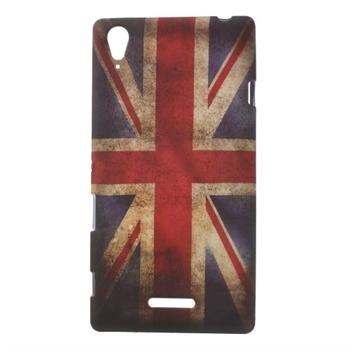 Billede af Sony Xperia T3 inCover Design TPU Cover - Union Jack