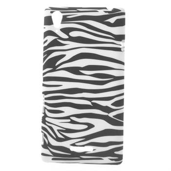 Billede af Sony Xperia T3 inCover Design TPU Cover - Zebra