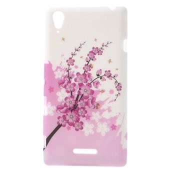 Billede af Sony Xperia T3 inCover Design TPU Cover - Plum Blossom