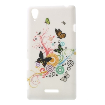 Billede af Sony Xperia T3 inCover Design TPU Cover - Vivid Butterfly