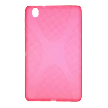 Billede af Samsung Galaxy TabPRO 8.4 TPU X-Line Cover - Rosa