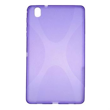 Billede af Samsung Galaxy TabPRO 8.4 TPU X-Line Cover - Lilla
