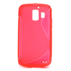 Image of Huawei Ascend Y200 inCover TPU S-Line Cover - Rød