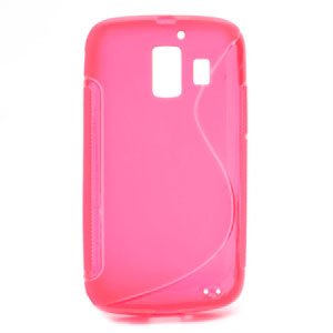 Image of Huawei Ascend Y200 inCover TPU S-Line Cover - Rosa