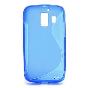 Image of Huawei Ascend Y200 inCover TPU S-Line Cover - Blå