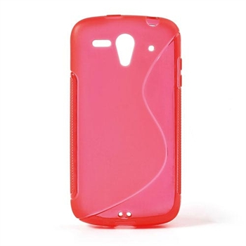 Image of Huawei Ascend G300 inCover TPU S-line Cover - Rød
