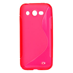 Image of Huawei Honor TPU S-line cover fra inCover - rosa
