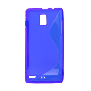 Image of Huawei Ascend P1 TPU S-line cover fra inCover - blå