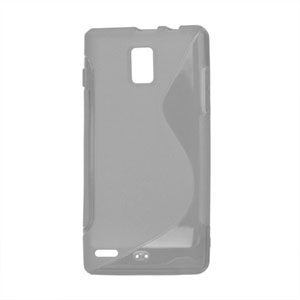 Image of Huawei Ascend P1 TPU S-line cover fra inCover - grå