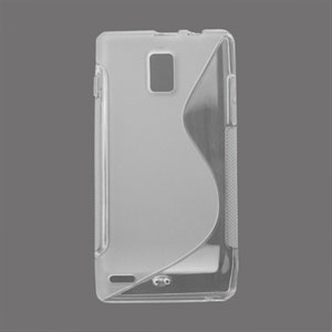 Image of Huawei Ascend P1 TPU S-line cover fra inCover - gennemsigtig