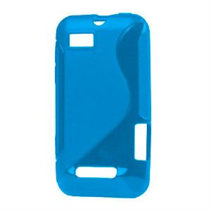 Image of Motorola Defy Mini TPU S-line cover fra inCover - blå