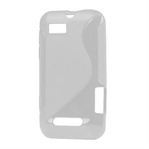 Image of Motorola Defy Mini TPU S-line cover fra inCover - gennemsigtig
