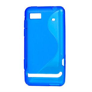 Image of Motorola Motoluxe TPU S-line cover fra inCover - blå