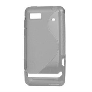 Image of Motorola Motoluxe TPU S-line cover fra inCover - grå