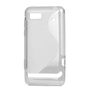Image of Motorola Motoluxe TPU S-line cover fra inCover - gennemsigtig