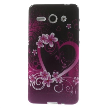 Image of Huawei Ascend Y530 inCover Design TPU Cover - Heart