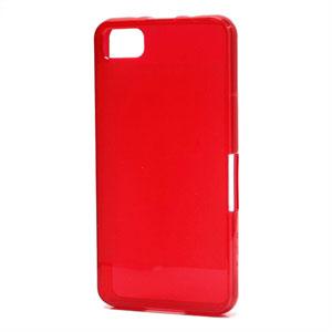 Billede af BlackBerry Z10 inCover TPU Cover - Rød