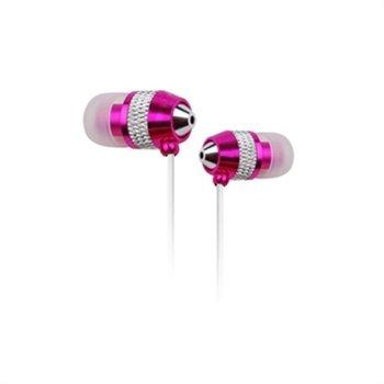 Billede af NoiseHush NX40 Stereo Høretelefoner Med Mikrofon - Pink