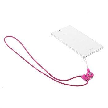 Image of   Halskæde Til Smartphones & Gadgets - Rosa