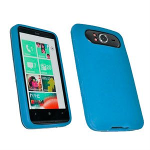 Billede af HTC HD 7 Silikone cover fra inCover - blå