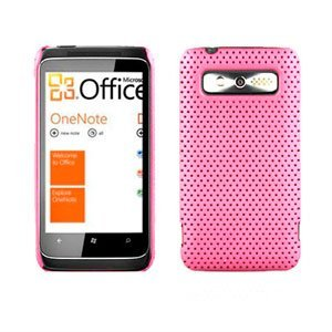 HTC 7 Trophy Hard Air cover fra inCover - pink