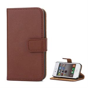 Image of Apple iPhone 4S FlipStand Taske/Etui - Brun