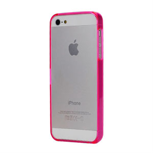 Image of   Apple iPhone 5/5S Plastik bumper fra inCover - rosa