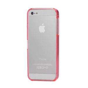 Image of   Apple iPhone 5/5S Plastik bumper fra inCover - pink