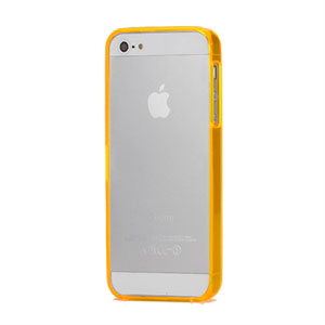 Image of   Apple iPhone 5/5S Plastik bumper fra inCover - orange
