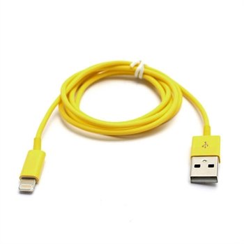 Billede af Lightning USB Oplade- og Datakabel til Apple - Gul 1M
