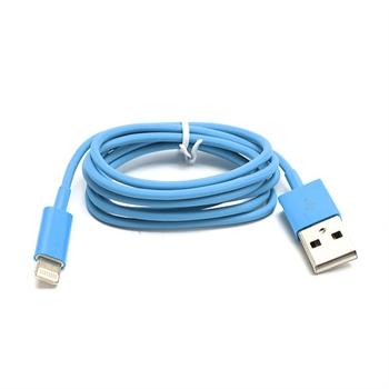 Billede af Lightning USB Oplade- og Datakabel til Apple - Blå 1M