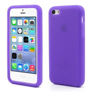 Billede af Apple iPhone 5C inCover Silikone Cover - Lilla
