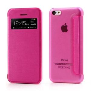 Billede af Apple iPhone 5C FlipCase Window Taske/Etui - Rosa