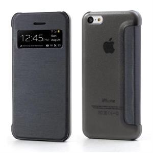 Billede af Apple iPhone 5C FlipCase Window Taske/Etui - Sort