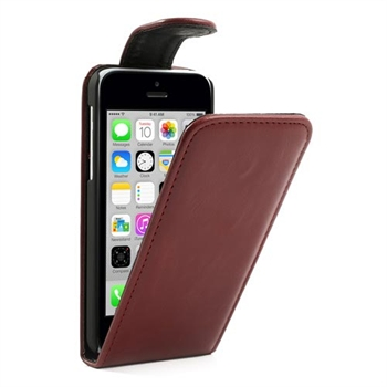Apple iPhone 5C FlipCase Taske/Etui - Rød