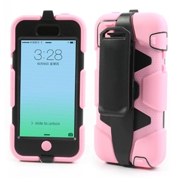 Image of   Apple iPhone 5C Heavy Duty Cover - Pink