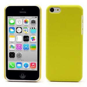 Billede af Apple iPhone 5C inCover Plastik Cover - Gul