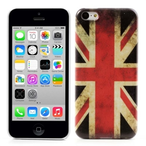 Image of   Apple iPhone 5C Design Plastik Cover - Union Jack