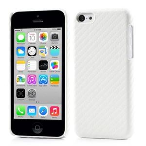 Billede af Apple iPhone 5C inCover Design Plastik Cover - Hvid Carbon